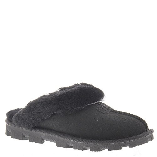 UGG Women's Coquette Slipper, Black, 11 US/11 B US by UGG