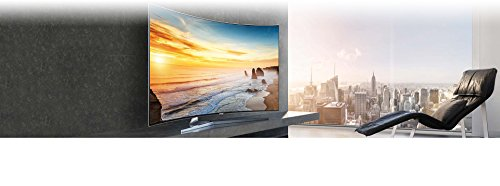 Samsung UN65KS9500 Curved 65-Inch 4K Ultra HD Smart LED TV (2016 Model)