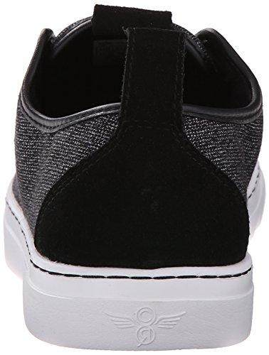 Ricreazione Creativa Mens Lacava Q Moda Sneaker Nero / Bianco / Adattandosi