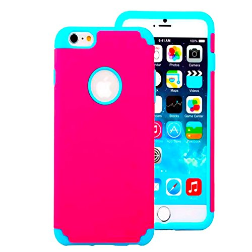 CaseHQ iPhone 7 Case, iPhone 8 Case,slim Dual Layer Silicone Rubber PC Protective Case Fit for iPhone 7 (4.7 screen),iPhone 8 (4.7 screen) Hybrid Hard Back Cover and Soft Silicone-red (Tailored Scarf)
