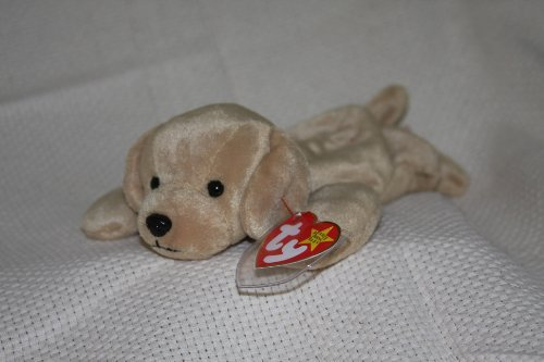 TY Beanie Babies Fetch the Golden Retriever Dog Stuffed Animal Plush Toy - 8 inches ()