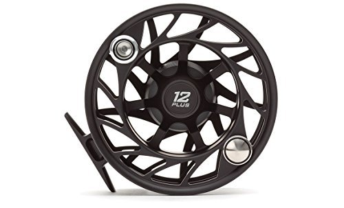 Hatch Gen 2 Finatic 12 Plus Fly Reel, Black/Silver, Mid Arbor