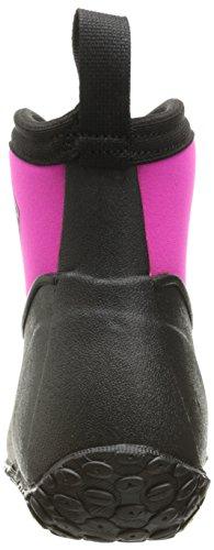 Rubber Garden Women's Ankle Boot Boot Ll Height Muckster Muck Pink Black 6nqwPx0YUq