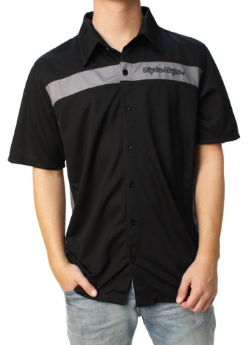 Troy Lee Designs Men's Button Down Pit Shirt-Small ()