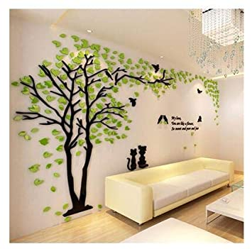 Amazon Com Best Quality Wall Stickers Creative Couple Tree 3d