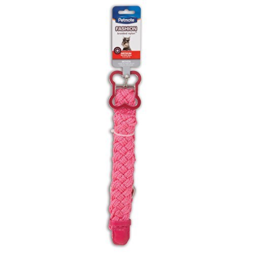 Doskocil Aspen Pet Products Braid Nylon Petmate Collar, 1