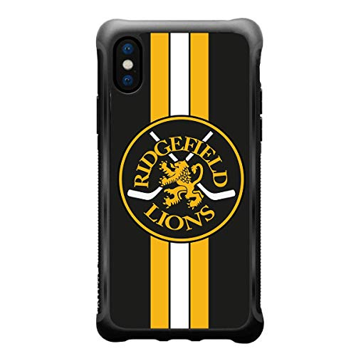 True Color Custom Case Made for Sport Teams with Team Logo - Name or Player Number for iPhone Models Printed on Inner Impact Resistant Acrylic Protective Anti-Slip Grip Shockproof Bumper Cover