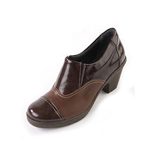 Mujer Zapatos Suave Cordones Para De Marrón xgqxfv1Rw
