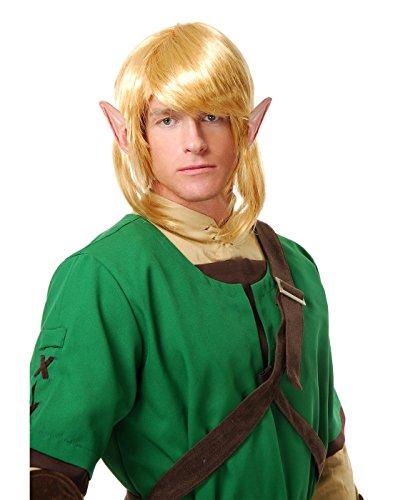Charades Adult Elf Warrior Costume Wig -