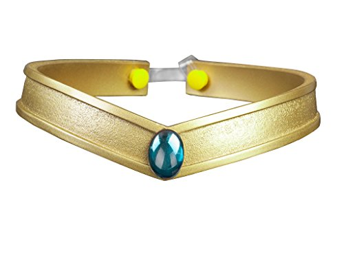 Cosfun Sailor Queen Headwear/Tiara Accessories Gold PVC Props Cosplay (Neptune KaiOu Michir)