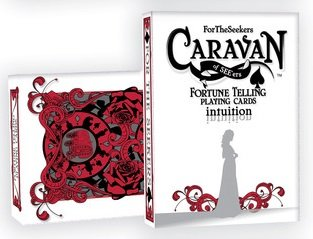 """Read Online ForTheSeekers Caravan of SEE'ers - red """"intuition"""" Fortune Telling Playing Cards pdf epub"""