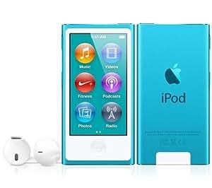 APPLE iPod nano 16 GB azul (7ª generación) - NUEVO + GARANTÍA 3 AÑOS