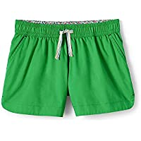 Lands' End Girls Plus Solid Pull On Shorts