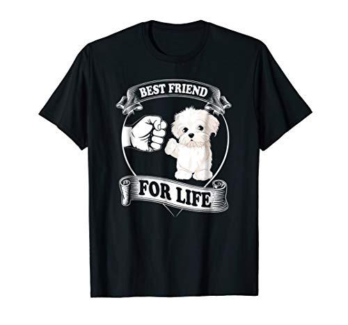 - Maltese Best Friend Tshirt Maltese Dog Lovers Funny Shirt