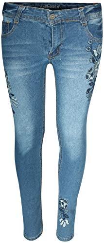 dollhouse Girls\'' Denim Flower Jeans with Rips