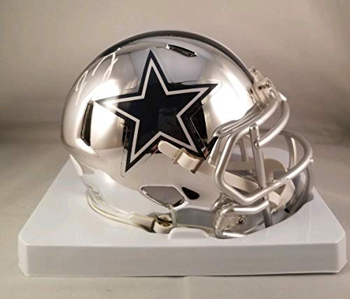 Jaylon Smith Autographed Signed Chrome Mini Helmet Dallas Cowboys JSA ()