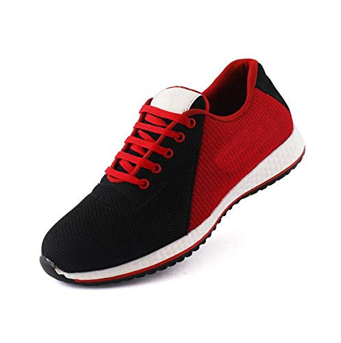 678584dcd SCARPI-Mix and Match Casual Pair of Shoes for Men, Black: Red, 6 ...