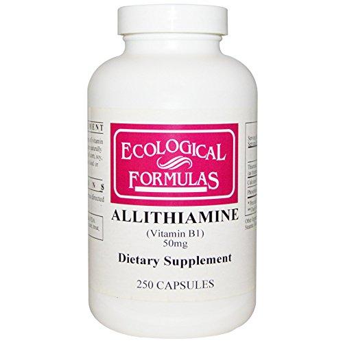 Ecological Formulas Allithiamine Vitamin B1 50 mg 250 Capsules