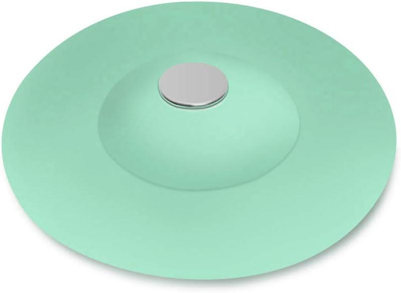 Azul TPR 10 * 3.6cm Filtro de desag/üe para Fregadero de Ducha de Silicona GTWCK