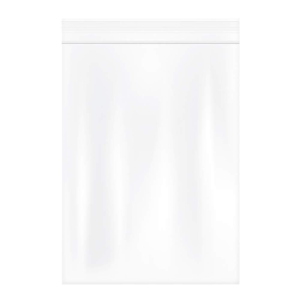 Piokio 6'' x 9'' Reclosable Plastic Bag Resealable Zip Bags, Clear, 2 Mil, Pack of 200 by Piokio (Image #1)