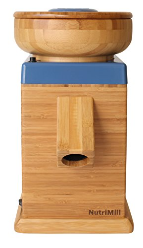 Moon Appliances Blue (NutriMill Harvest Stone Grain Mill, 450 Watt (Blue Moon))