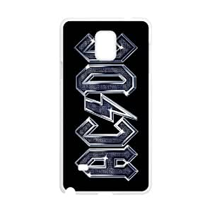 HXYHTY Rock Band ACDC Phone Case For Samsung Galaxy note 4 [Pattern-3]