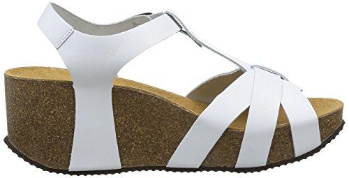 No Sandales white Compensées Femme Box Blanc Judy H6gHqpwS