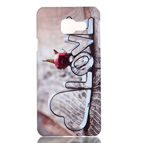 para Galaxy A5 (2016)A510F Funda - Sunroyal® Premium PC Carcasa Ultra Slim Fit Cáscara Plástico Dura Concha Alta Calidad Sleeve Rígida Caso Parachoques Bumper Flexible Case Cover [Anti-Arañazos] Shell A-10