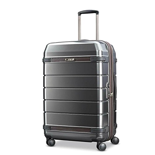 Hartmann Medium Journey Expandable Spinner, Graphite/Espresso by Hartmann