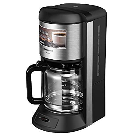Inicio Máquina de Café Estadounidense Comercial Goteo Humeante Cafetera,Negro: Amazon.es: Hogar