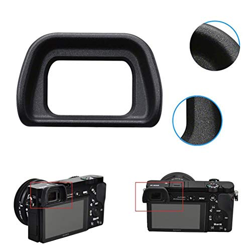 (Electronic Eyepiece Viewfinder for Sony Alpha A6300 A6000 NEX6 NEX7 Cameras Replacement Eye Cup)