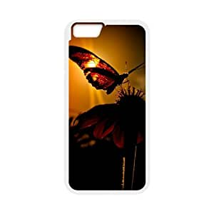 "Butterfly in Glowing Sunset Unique Design Case for Iphone6 4.7"", New Fashion Butterfly in Glowing Sunset Case"