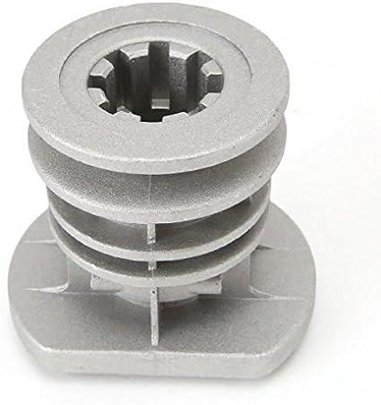 Soporte de cuchilla para cortacésped Castelgarden GGP 22465608/0; diámetro interior de 25,4mm