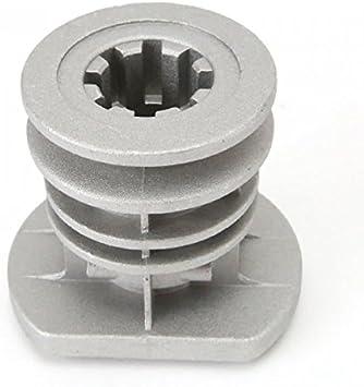 Soporte de cuchilla para Castelgarden GGP 22465607/0, diámetro 22,2 mm