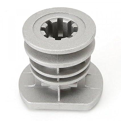 Soporte de cuchilla para cortacésped Castelgarden GGP 22465608/0; diámetro interior de 25,