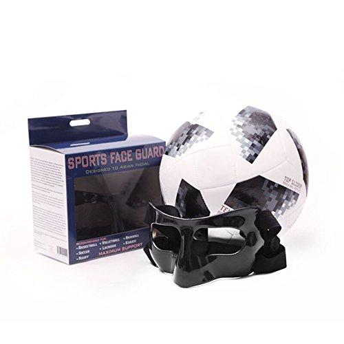 Mask Carbon Fiber (Nose Guard Face Shield Protective Face Mask Carbon Fiber Update New Version (Black))