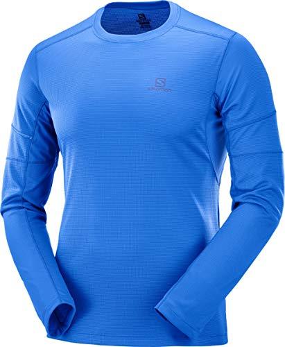 Agile nautical Blu Shirt Uomo Salomon Ls Tee Blue Oqpwvd