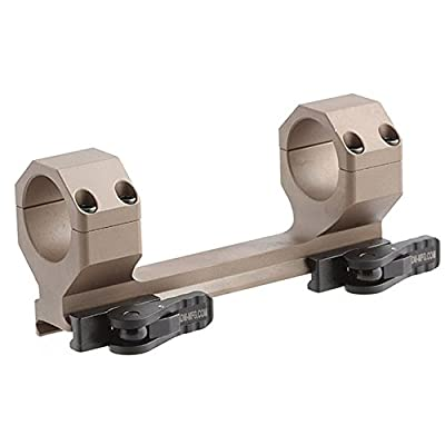 American Defense AD-DELTA 30 STD FDE Riflescope Optic Mount, Flat Dark Earth by American Defense Mfg