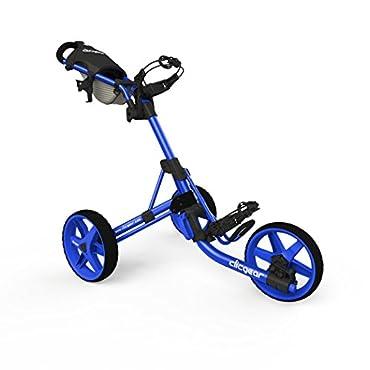 Clicgear Model 3.5+ Golf Push Cart (Blue)