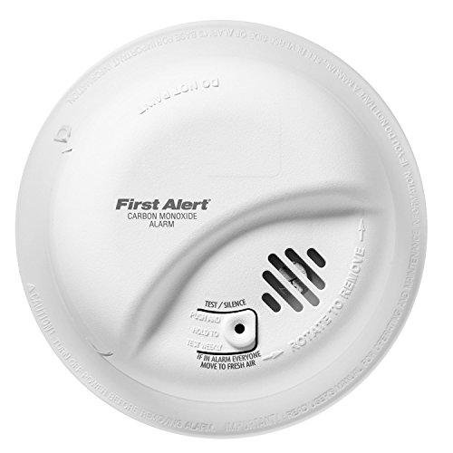 BRK First Alert CO5120BN Hardwire Carbon Monoxide Alarm with Battery Backup