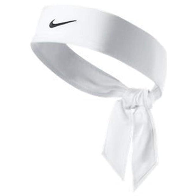 Nike Dri Fit Head Tie White: Amazon.es: Ropa y accesorios