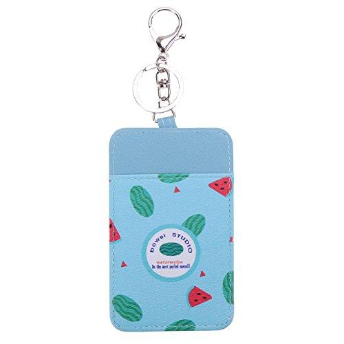 Mace Spray Holder (Cute Fruit Card Holder Bus Card Keychain Student Card Cover Case(4))