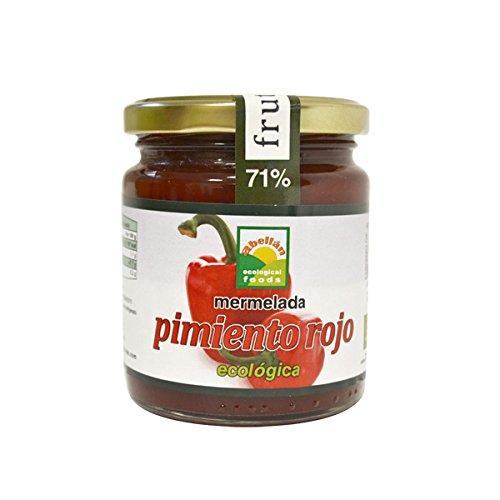 Abellan Biofoods - Mermelada De Pimiento Rojo Con Azúcar. Tarro 280 Gr