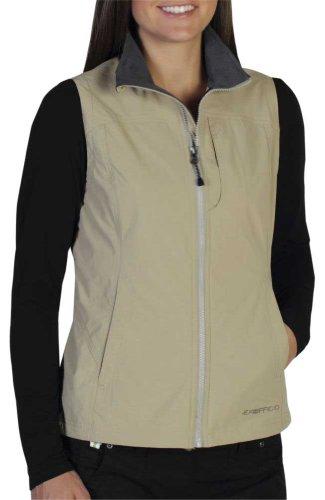 ExOfficio Women's Flyq Lite Vest, Light Khaki, Medium