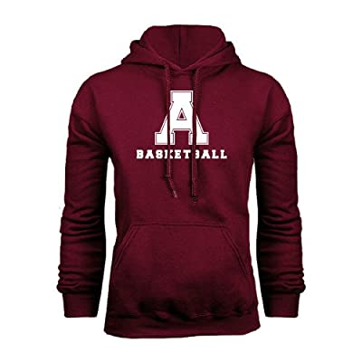 Alma College Maroon Fleece Hoodie 'Basketball'
