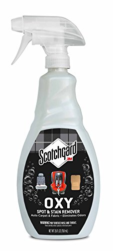 Scotchgard OXY Auto Carpet & Fabric Spot & Stain Remover, 26 Fluid Ounce