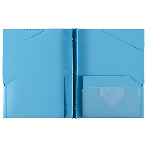043100340300 - Five Star Pocket and Prong Folder, Stay-Put Tabs, Color Will Vary (34030) carousel main 22