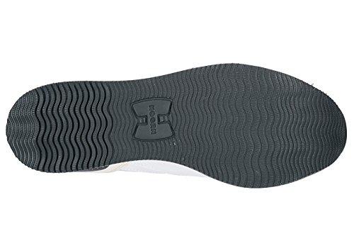 Hogan Sneakers Donna Scarpe Da Ginnastica In Pelle Da Donna H222 Bianco