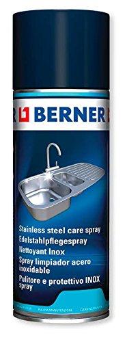 Berner 160366 Acero Inoxidable Cuidado Spray, 400 ml ...