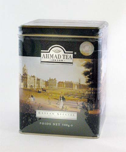 Ahamad Ceylon Earl Grey Tea, 500 Gram Tin